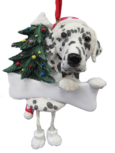 Dalmatian Ornament with Unique