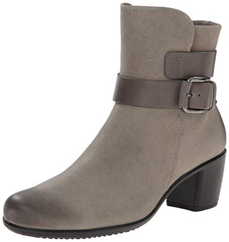 Ecco Footwear Womens Touch 15 Mid Cut Bootie Boot, Moon Rock, 41 EU/10-10.5 M US