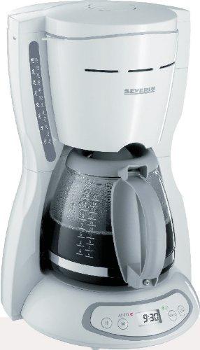 Severin KA 4030 - Cafetera eléctrica con temporizador para 10 ...