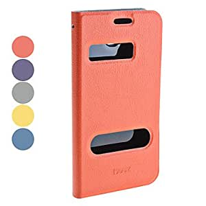 AES - Litchi Grain Full Body PU Leather Case with Stand for Samsung Galaxy Grand I9080/I9082 (Assorted Colors) , Purple