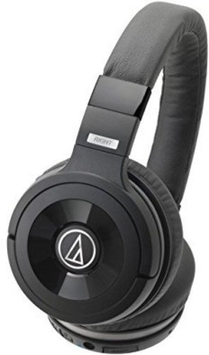Audio Technica ATH WS99BT Solid Bass Bluetooth Wireless Over Ear Headphones with Built In Mic  amp; Control