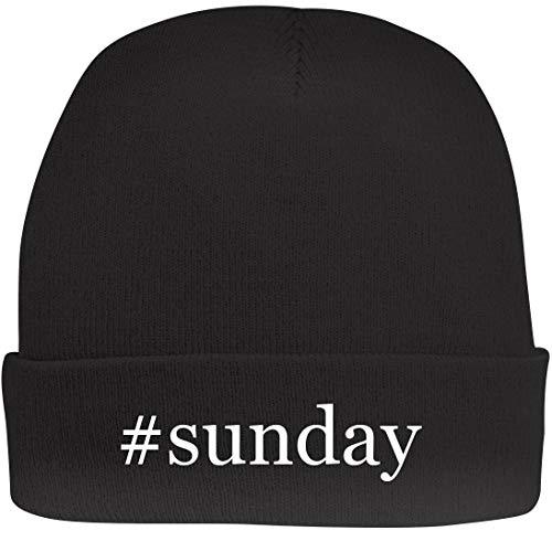 Shirt Me Up #Sunday - A Nice Hashtag Beanie Cap, Black, OSFA -