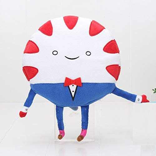 PAPWELL Peppermint Butler Plush Toy 9 inch Adventure Time Toys Hot Soft Stuffed Christmas Halloween Birthday Collectable Gift Big Collectible Movie Cute Large Collectibles for Kids -