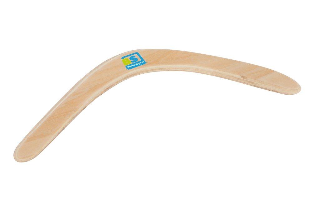 BS Toys BuitenSpeel Wooden Boomerang BS Toys_GA161