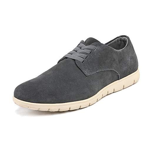 Bruno Marc Men's Grey Oxford Fashion Sneaker Casual Dress Sneakers - 7 M ()