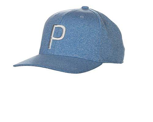 Puma Golf 2018 'P' Snapback Hat (One Size), Azure Blue