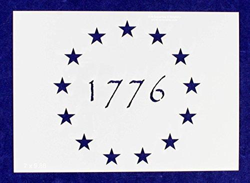 - 13 Star 1776 Stencil 14-G-Spec -8