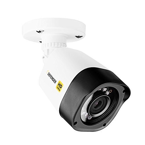 (Defender HD 1080p Indoor/Outdoor Long Range Night Vision Bullet Security Camera - White - HDCB1)