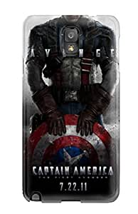 New WKtmZaq3066gOrtg Captain America First Avenger Skin Case Cover Shatterproof Case For Galaxy Note 3