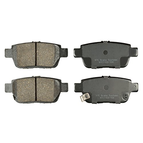 - KFE Ultra Quiet Advanced KFE1103-104 Premium Ceramic Rear Brake Pad Set