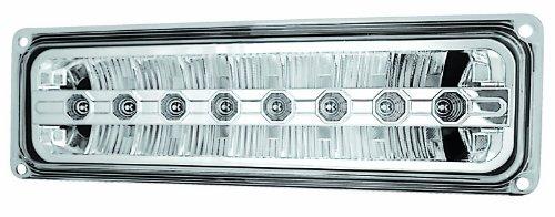 IPCW LEDC-303C Crystal Clear LED Front Park Signal Lamp - Pair
