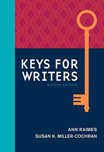 Keys For Writers W/2016 Mla Updates