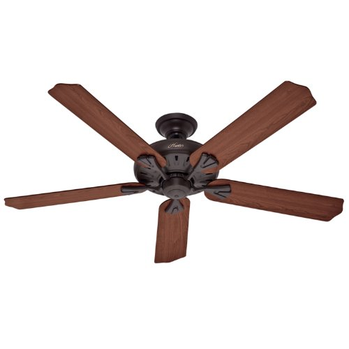 Hunter Fan Company Builder Great Room New Bronze Ceiling: Hunter 23688 60-Inch Royal Oak New Bronze Fan With Remote