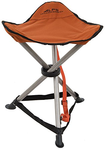- ALPS Mountaineering Tri-Leg Stool, Rust