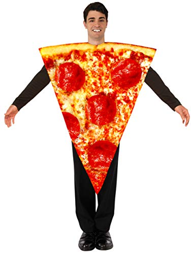 Forum Unisex Adult Photo-Real Pizza Costume,