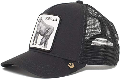 Goorin Bros. 'King of The Jungle' Animal Farm Trucker Snap Back Baseball Hat Black
