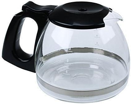 Jarra de cristal extra fuerte para cafeteras Delonghi ICM2.B ...