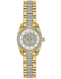 Women's Swarovski Crystal Quartz Watch with Two-Tone-Stainless-Steel Strap, 12 (Model: 98L241)
