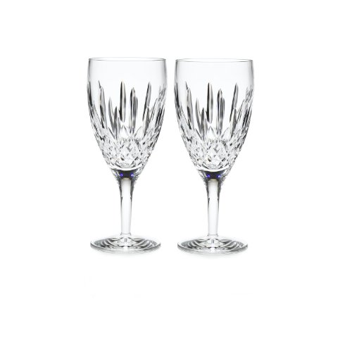 Waterford Lismore Nouveau Iced Beverage Pair, 14-Ounce by Waterford  Crystal