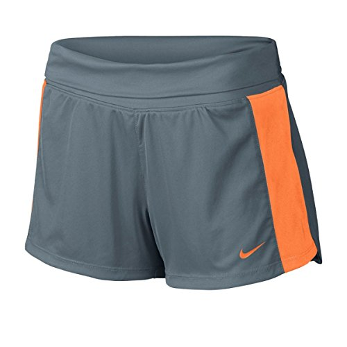 Shorts Knit Nike Womens - Nike Women's Dri Fit Knit Training Shorts, Blue Graphite, X-Large, 643049 494