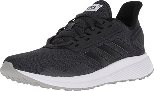 adidas Women's Duramo 9 Running Shoe Carbon/Black/Grey 10.5 M US