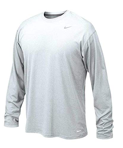 Nike Mens Longsleeve Legend - White - Large