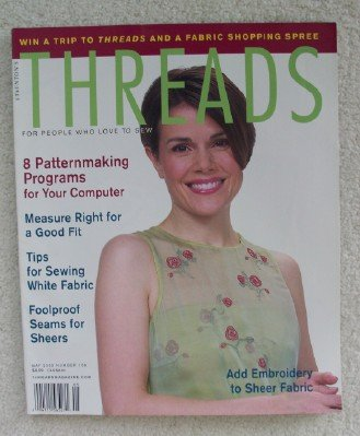 Threads Magazine. April/may 2003. No. 106. Single Issue Magazine. PDF