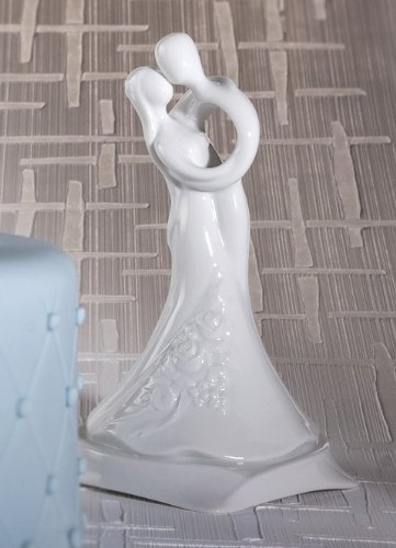 Love Entwined Ceramic Wedding Cake Top