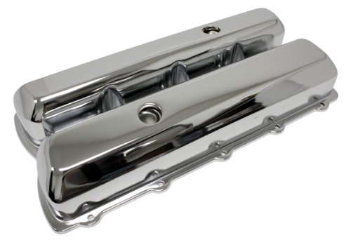 CFR Performance  HZ-9391-1 Oldsmobile Tall Steel Valve Covers – Chrome