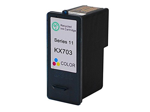 (Monoprice MPI Compatible Dell KX703/JP453 (Series 11) Inkjet- Tri Color)