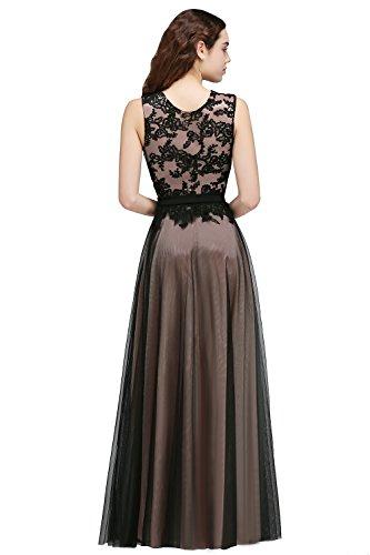 Tulle Longue Femme Cocktail Soire en Elgante MisShow Rose Maxi de Satin Chic Robe Florale et 1PqFU