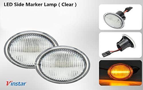 500 595 695 500C 312 E4 MOT T/ÜV ITV Lot de 2 ampoules LED DINAMIQUES CLAROS F