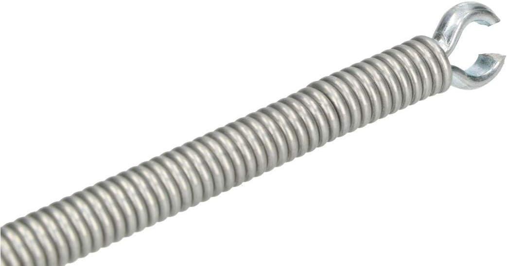 argent KOTARBAU Arbre de nettoyage pour tuyaux /Ø 9 mm Fil dacier /à ressort galvanis/é Toutes les tailles Canal Flexibles Poign/ée en bois T/ête de m/âchoire Manivelle pour tous les canalisations