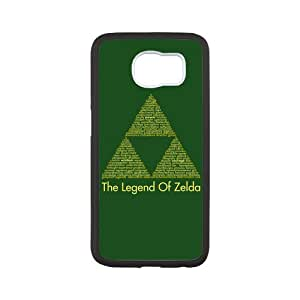 Case for Samsung Galaxy s6,Black/White Sides,Classic Style Customzie Unique Design Galaxy s6Cases , High Qualiy TPU Material,The Legend of Zelda Samsung Galaxy s6