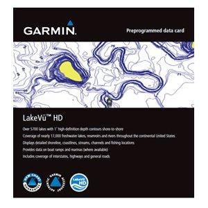 Garmin LakeVü™ HD - microSD™/SD™ f/GPSMAP® Series Montana® & Oregon® Handhelds by Garmin