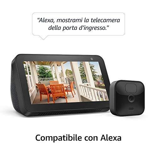 Nuova Blink Outdoor, Videocamera di sicurezza in HD, senza ...