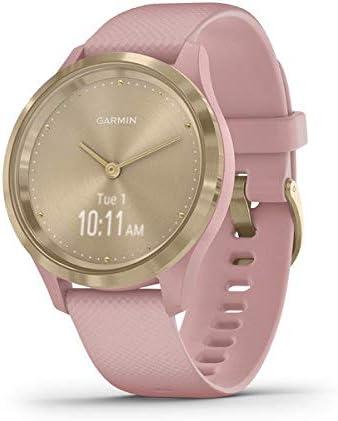 Oferta amazon: Garmin Vívomove 3S Sport - Reloj inteligente, color light gold y rosa