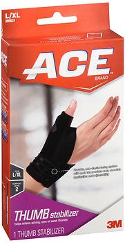Ace Thumb Stabilizer L/XL Moderate Support - 1 ea., Pack of 6 by ACE