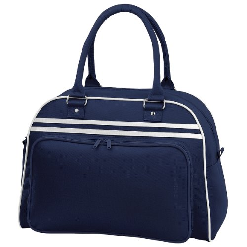 Bagbase Retro Bag (23 Liters) (One Size) (French Navy/White)