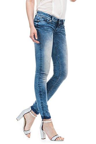 le Shape Salsa Jeans Femme slim sur et jambe us Up devant effet avec v5gr5q
