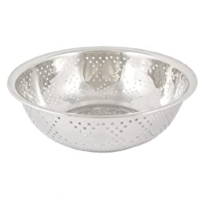 Bowl Shaped Side Bottom Drainers Fruit Rice Washing Basin from uxcell