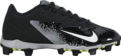 NIKE Men's Vapor Ultrafly Keystone Baseball Cleat Black/White/Wolf Grey/Cool Grey Size 7.5 M US