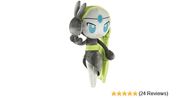 7-Inch Poke Doll Plush Pirouette Forme Standard Size Pokemon Meloetta