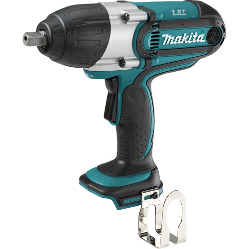 Makita XWT04Z 18-Volt LXT Lithium-Ion 1 2-Inch High Torque Impact Wrench Tool Only, No Battery
