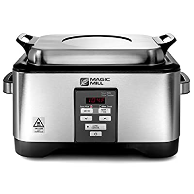 Magic Mill Professional 2 in 1 Sous Vide Water Bath Oven and Slow Cooker Machine