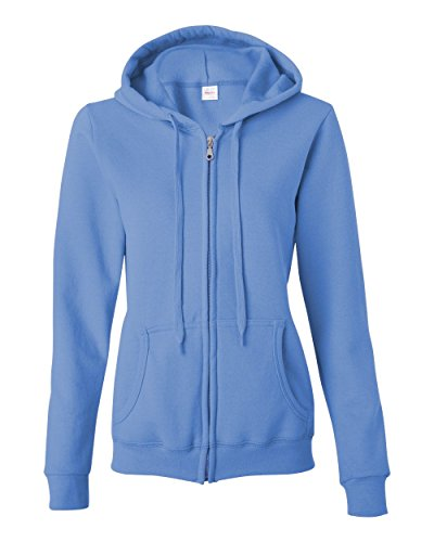 Carolina Womens Hoody Zip Sweatshirt - 1