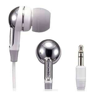 Denon AH-C350W In-Ear Headphones (White)