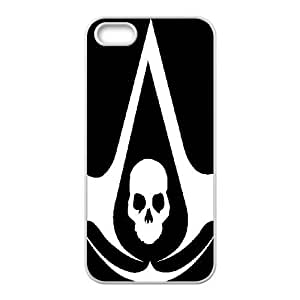 iPhone 5,5S Cell Phone Case White Assassin's Creed AFT846245