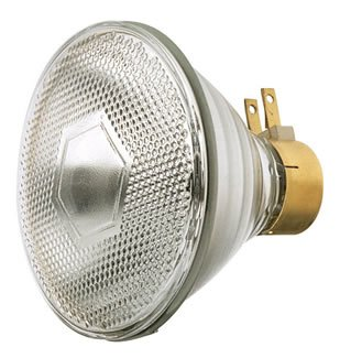 Prong Par38 Side - Satco S4800 PAR38 Incandescent Lamp 65 Watt MSPG Side Prong Base 765 Lumens White