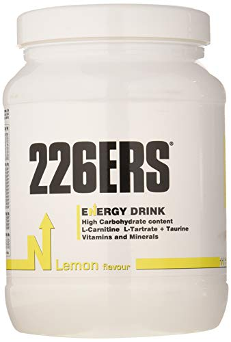 226ers Lemon Energy & Endurance Drink 500gr. Designed for Endurance Athletes & Athletic Performance. Pro & Age Group Ironmen, Ironwomen, Runners, Cyclists & Swimmers.